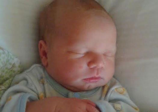 Baby Jasper Thomas-Allen