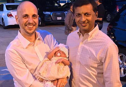 adoptive family Drew and Asim