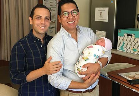 adoptive family Joe and Alejandro