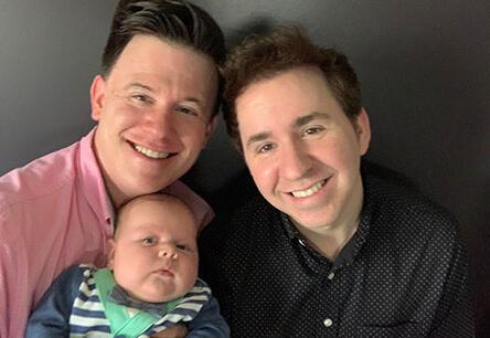 adoptive family Matt and Mason