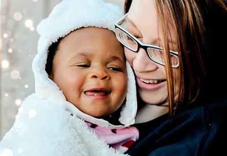 adoptive family Hannah