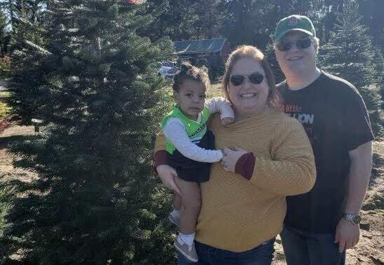 adoptive family Miki and Kirsten