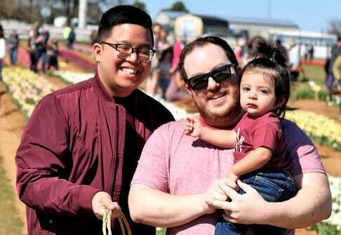 adoptive family Thomas and Rob