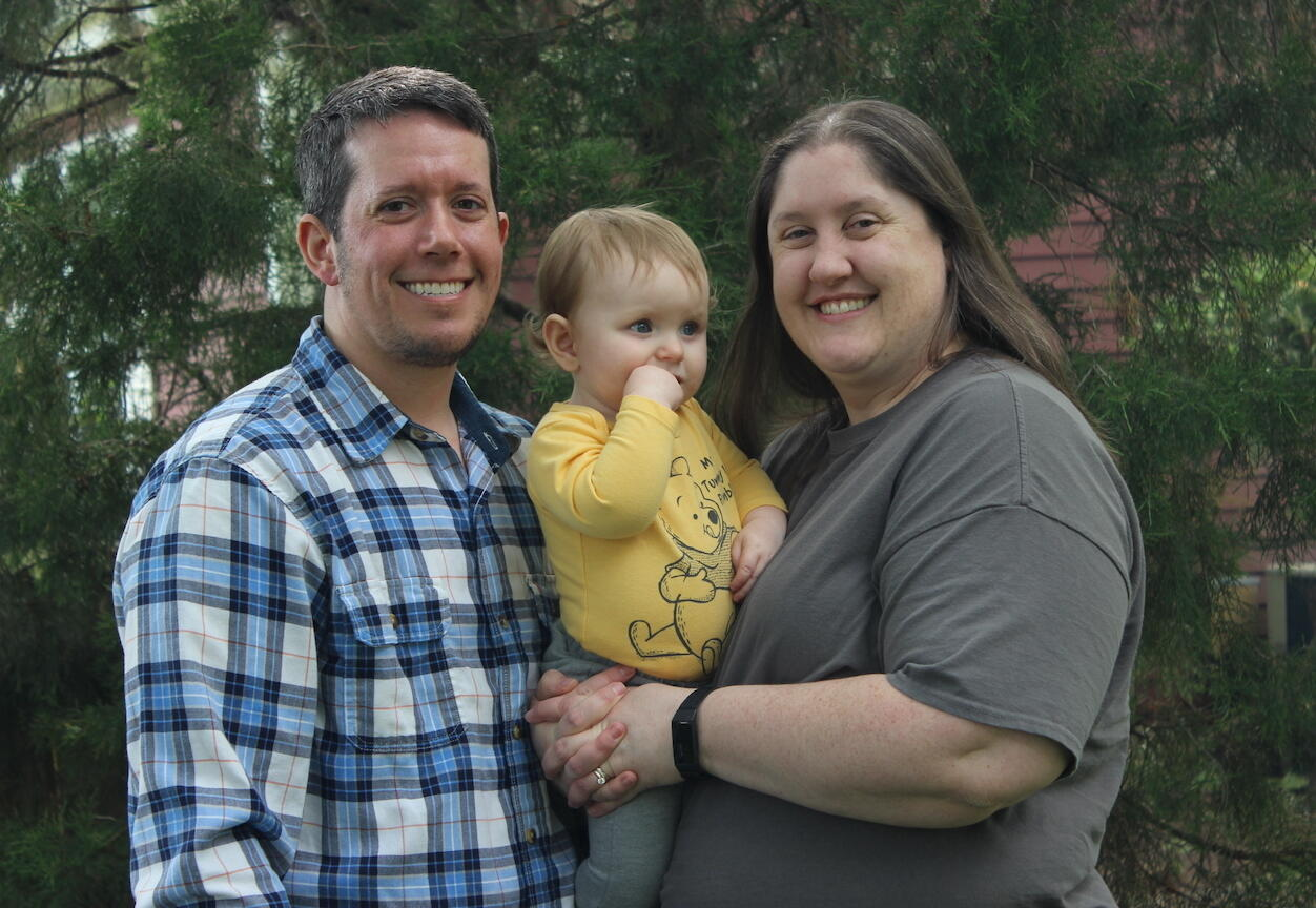 adoptive family Kai and Christina