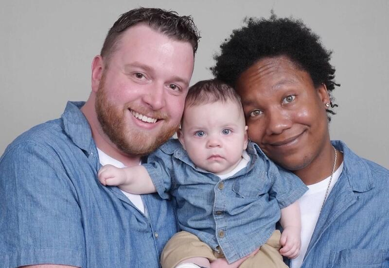 adoptive family A'mire and Barrett